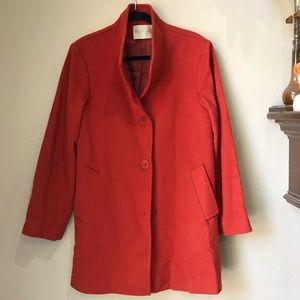 Fleurette | Stand Collar | Wool Car Coat | 10